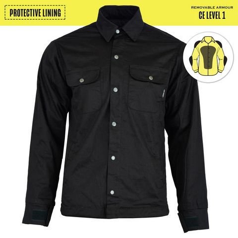 Men's Blackheath Protective Jacket-Black