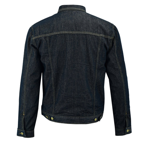 Image of Men's Glenbrook Indigo Denim Protective Jacket-Indigo