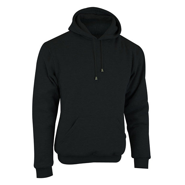 Johnny Reb 'hume' Protective- Motorcycle Fleece Hoodie-Black