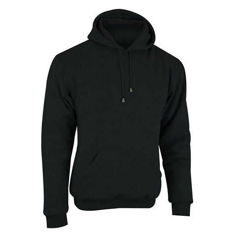 Image of Johnny Reb 'hume' Protective- Motorcycle Fleece Hoodie-Black