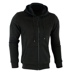Johnny Reb 'hume' Kevlar®Motorcycle Fleece Full-zip Hoodie