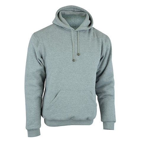 Image of Johnny Reb 'hume' Protective-Motorcycle Fleece Hoodie-Grey Marle