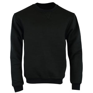 Johnny Reb 'hume' Kevlar® Fleece Crew-Black