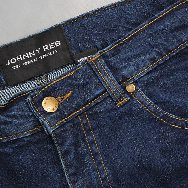 Johnny Reb Classic Fit Blue Protective-Jeans