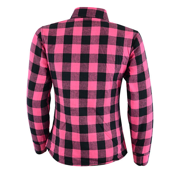 Johnny Reb Womens 'waratah' Plaid Protective Shirt - Reinforced With Protective- Fibre-JRS10004