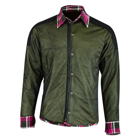 Johnny Reb Womens 'waratah' Plaid Protective Shirt - Reinforced With Dupont™ Kevlar® Fibre