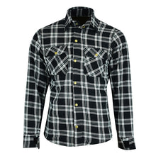 Load image into Gallery viewer, Johnny Reb 'waratah' Plaid Kevlar® Shirt-Black