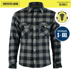 Johnny Reb 'waratah' Plaid Protective- Shirt