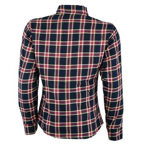 Image of Johnny Reb Womens 'waratah' Plaid Protective Shirt - Reinforced With Protective- Fibre