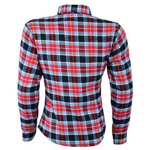 Image of Johnny Reb Womens 'waratah' Plaid Protective Shirt - Reinforced With Protective- Fibre-JRS10009