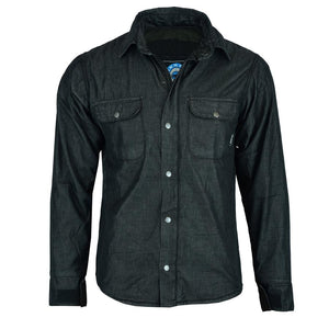 Men's Blackheath Protective Shirt | Dupont™ Kevlar® Lined- Black