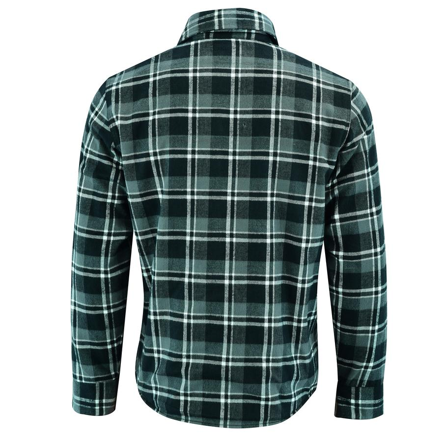 Men's Waratah Protective Shirt Protective- Lined-Dark Green