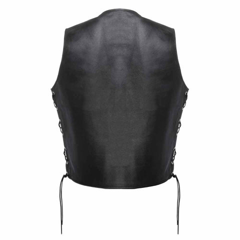 Magnum Premium Grade Leather Motorcycle Vest