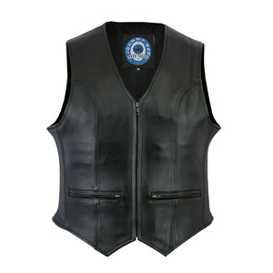 "Johhny Reb Womens ""Ovens"" Leather Vest"