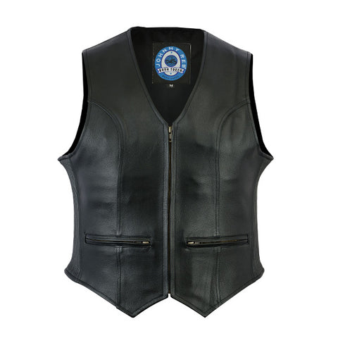 "Image of Johhny Reb Womens ""Ovens"" Leather Vest"