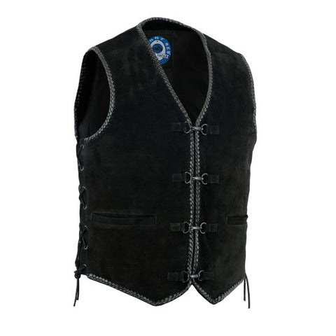 "Johnny Reb ""Lightning Ridge"" Suede Leather Vest"