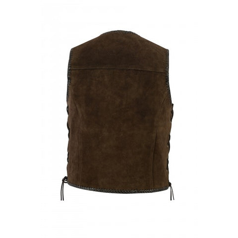 "Johnny Reb ""Gillies' Suede Leather Vest"