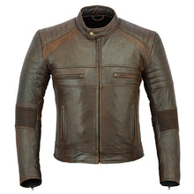 Load image into Gallery viewer, Johnny Reb 'Botany' Vintage Leather Jacket-Brown