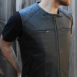 "Johnny Reb ""Savage River"" Leather Vest"