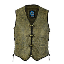"Load image into Gallery viewer, Johnny Reb ""Sturt"" Mungai Vintage Leather Vest"