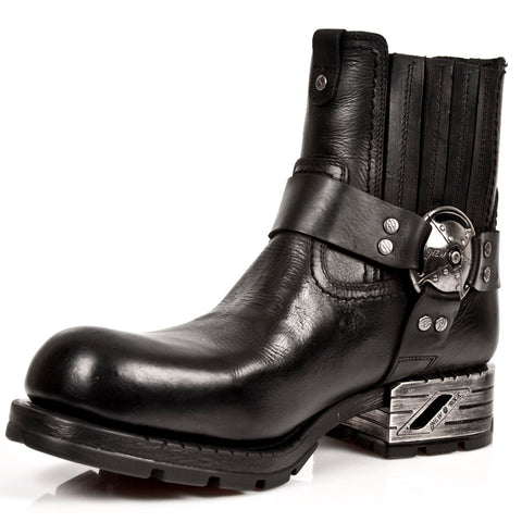 Image of New Rock Motorock Collection Motorcycle Boots-MR007-S1