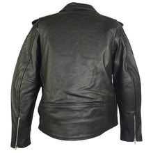 Load image into Gallery viewer, Brando Style Leather Motorcycle Jacket