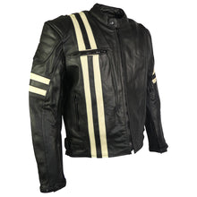 Load image into Gallery viewer, Classic Retro Leather Jacket-Jupiter