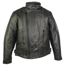 Load image into Gallery viewer, Terminator Leather Motorcycle Jacket