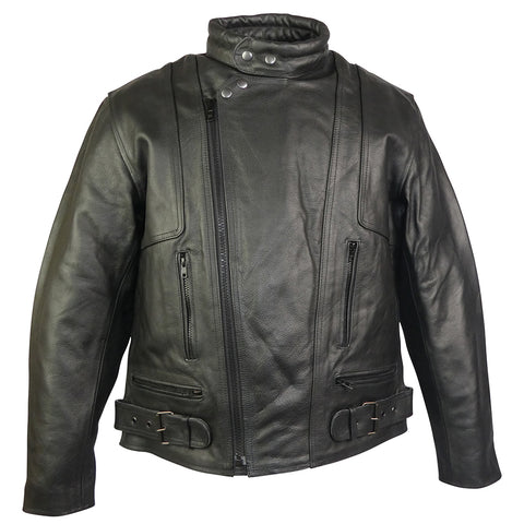 Image of Terminator Leather Motorcycle Jacket
