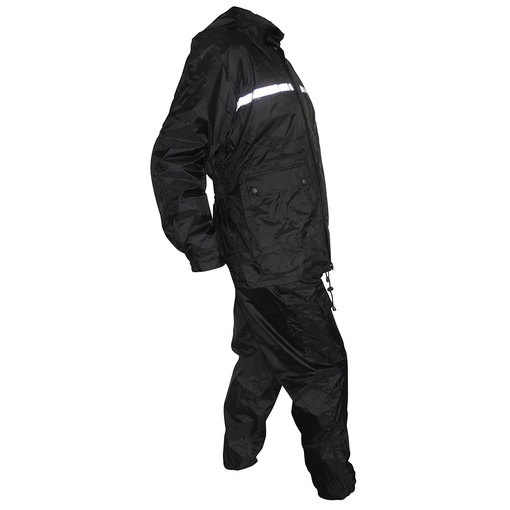 Four Piece Waterproof Rain Suit Wet Weather Gear