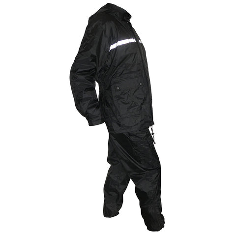 Image of Four Piece Waterproof Rain Suit Wet Weather Gear