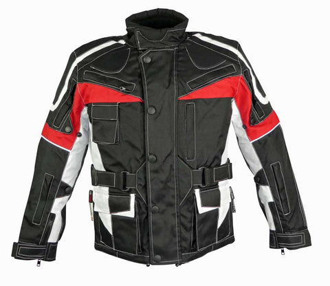 Image of Childrens Textile Motorcycle Jacket-10-12 Yr Old-Last One Left