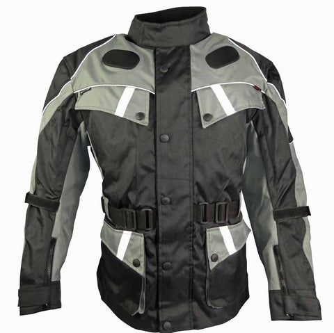 Image of Classic Touring Jacket With Multiple Air Vents-Knight