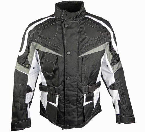 Classic Touring Jacket With Multiple Air Vents-Luke