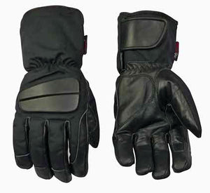 Leather And Textile Gloves- Mars