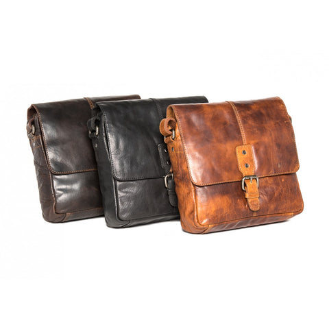 Wyoming Vintage Look Satchel