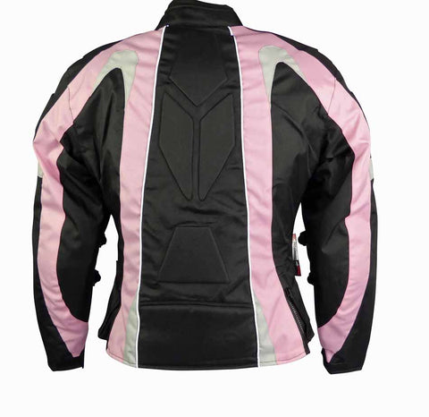 Image of Ladies Textile Jacket-Cindy Pink