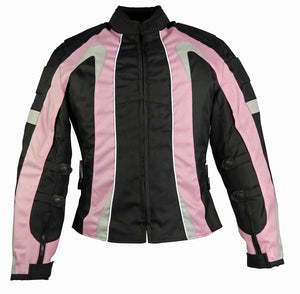 Ladies Textile Jacket-Cindy Pink-LAST ONE-Size Small