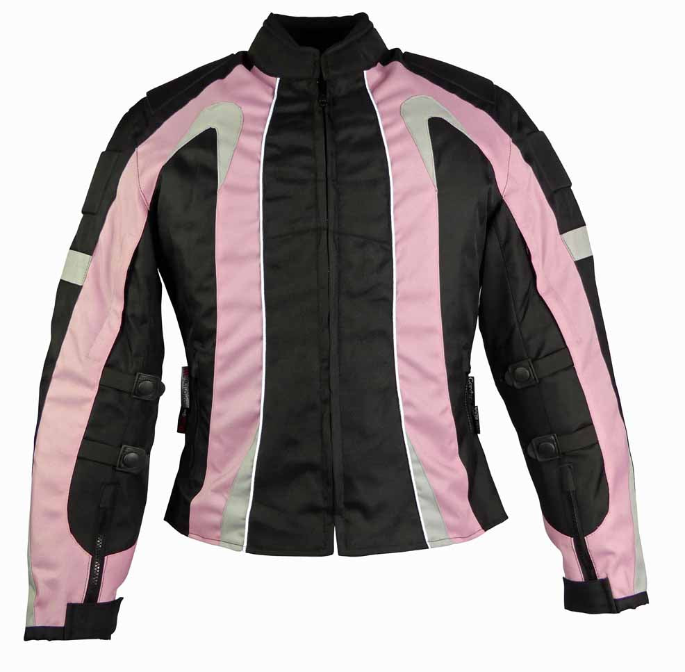 Ladies Textile Jacket-Cindy Pink