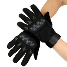Load image into Gallery viewer, Motorcycle Gloves With Molded Knuckle Protection