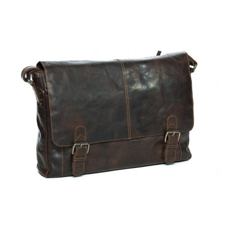 Mason Vintage Leather Messenger Bag