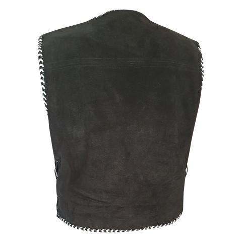 Colt Premium Grade Suede Motorcycle Vest- NOW BACK IN STOCK!
