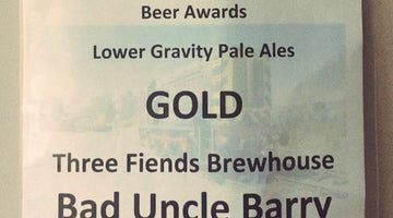 Barrow Hill Roundhouse Lower Gravity Pale Ale Gold Award