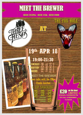 Meet The Brewer At The Fox Hole Meltham