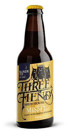 Misfit Blonde Ale - Three Fiends Brewhouse