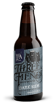 Dark Side Black IPA - Three Fiends Brewhouse