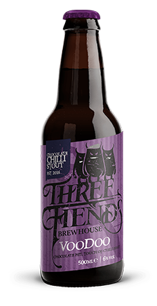 Voodoo Stout - Three Fiends Brewhouse