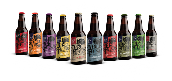 Mixed Box 12 x 500ml - Three Fiends Brewhouse