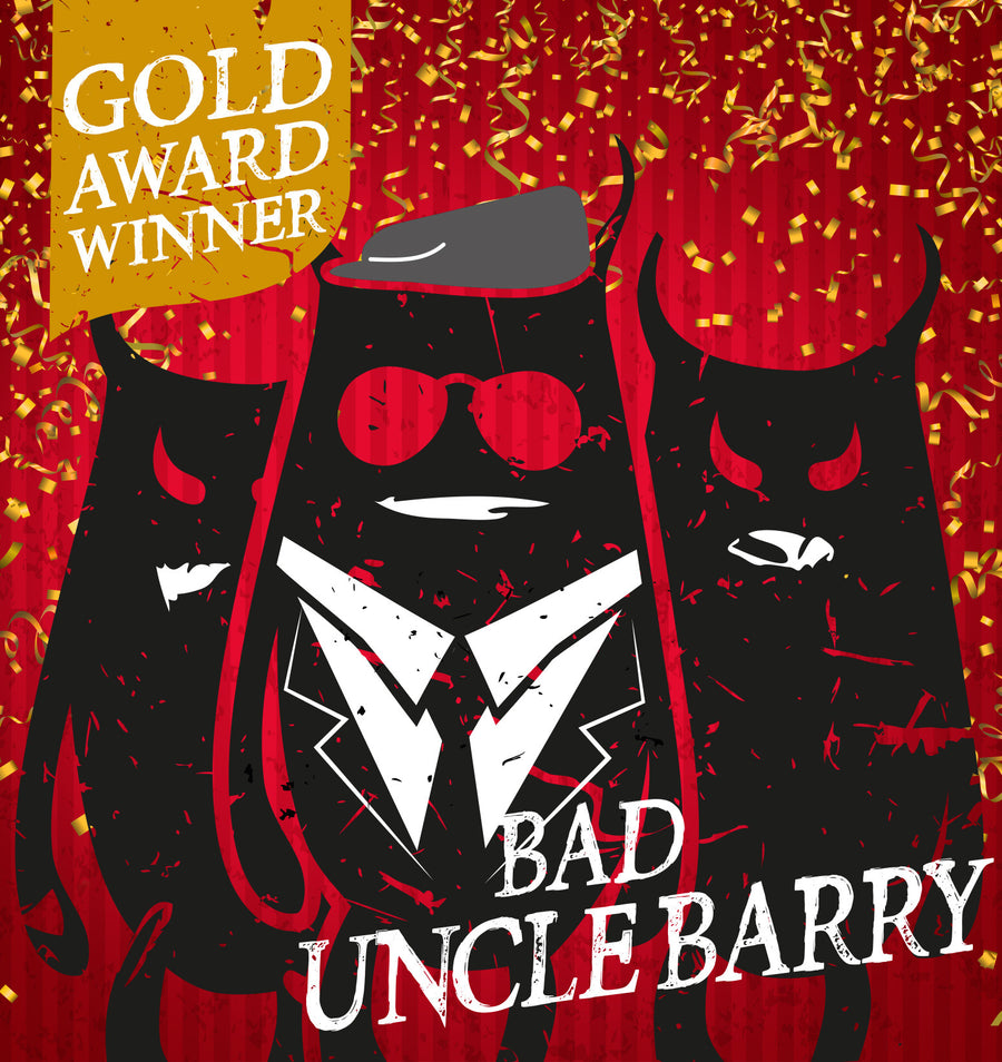 Bad Uncle Barry West Coast Pale Ale 4.2% - Three Fiends Brewhouse