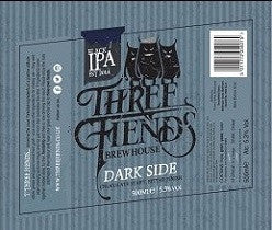 Dark Side Black IPA 5.3% Case - Three Fiends Brewhouse